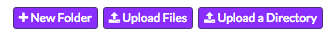 Upload Folder Button